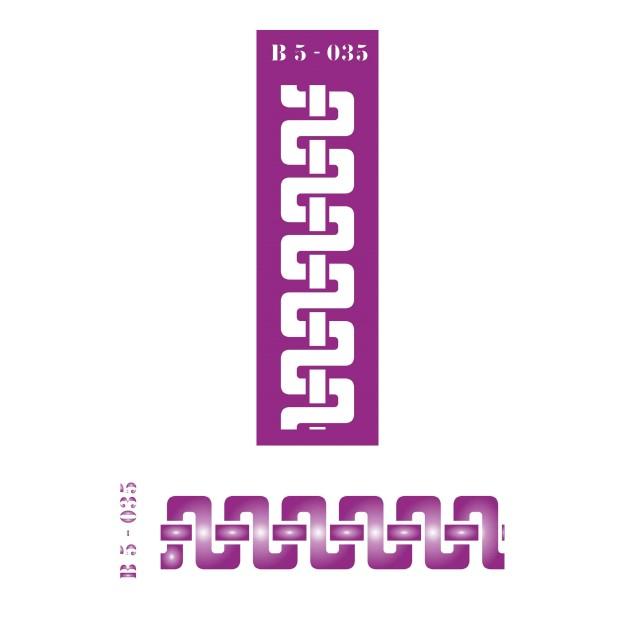 Трафарет B5 -035