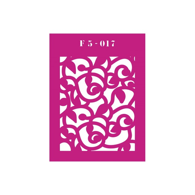 Трафарет F5 -017