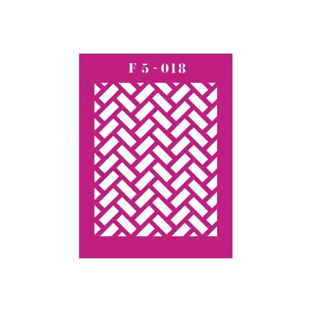 Трафарет F5 -018