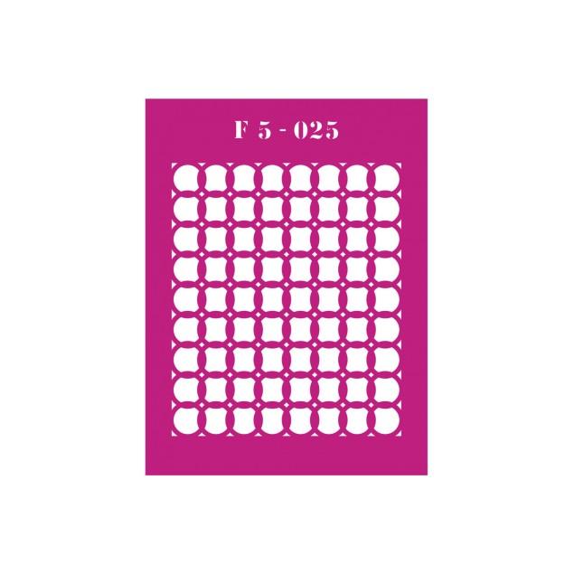 Трафарет F5 -025