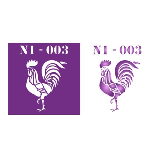 Трафарет N1 -003
