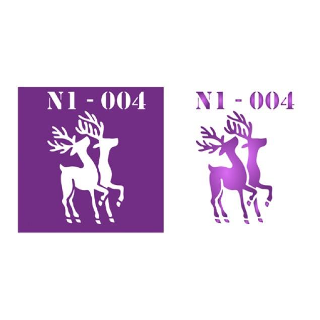 Трафарет N1 -004