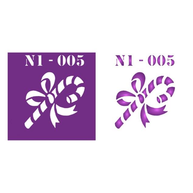 Трафарет N1 -005