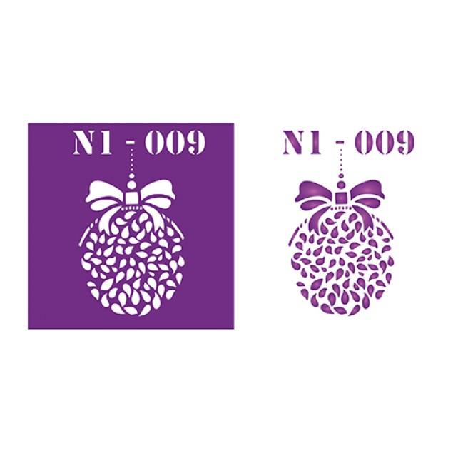 Трафарет N1 -009