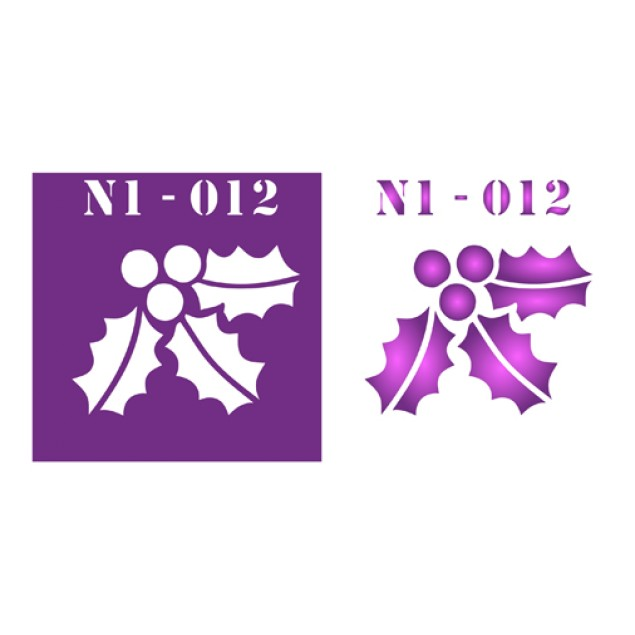 Трафарет N1 -012