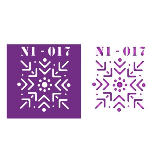 Трафарет N1 -017