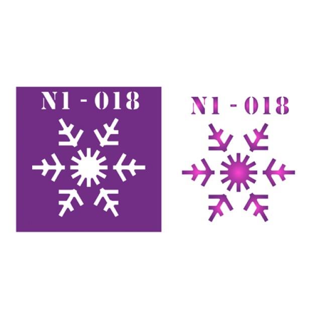 Трафарет N1 -018