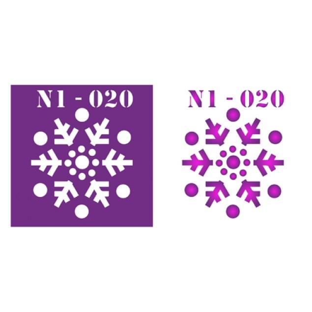 Трафарет N1 -020