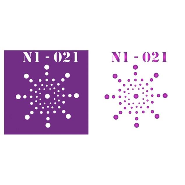 Трафарет N1 -021