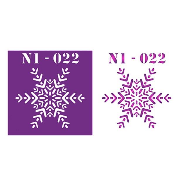 Трафарет N1 -022