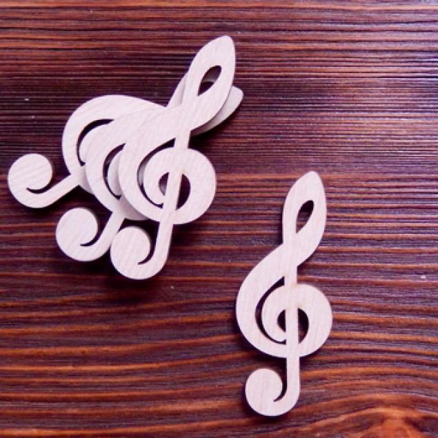 Скрипковий ключ шильда