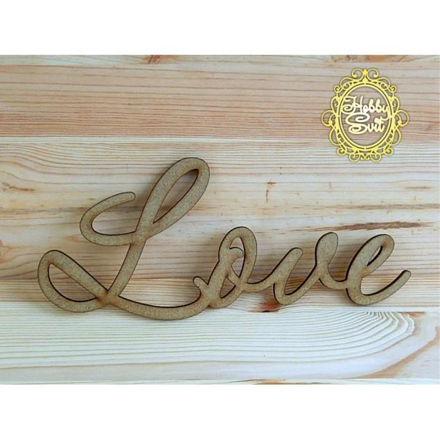 """Слово """"Love"""" довжина, 30 см"""